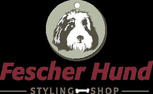 Logo Fescher Hund mit Hundemarke