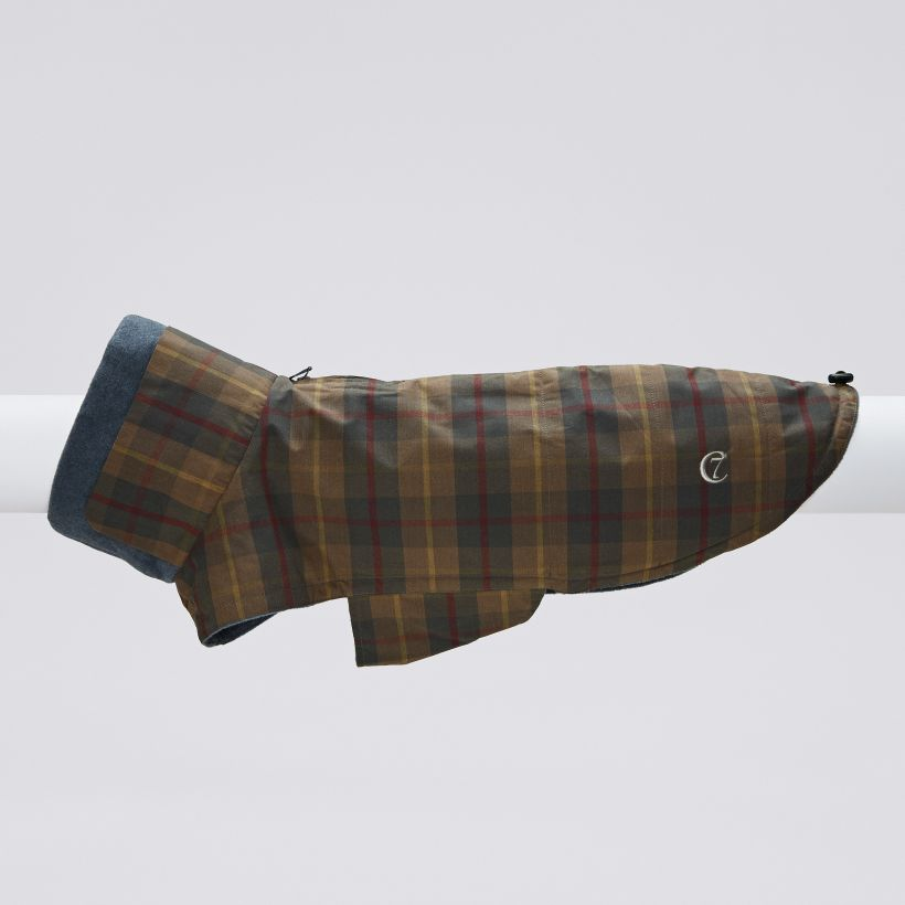 Cloud7 Hundemantel Brooklyn Waxed Tartan