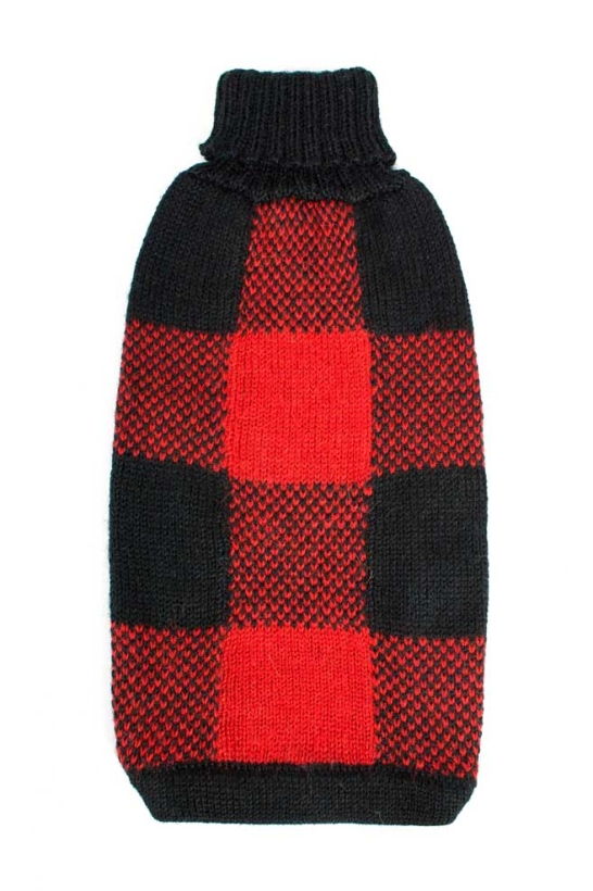 Alqo Wasi Pullover Buffalo Plaid