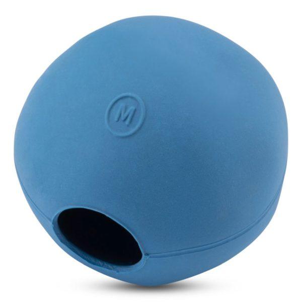 Beco Hundespielzeug Ball Blau
