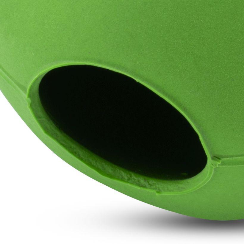 Beco Hundespielzeug Ball Grün Nahansicht