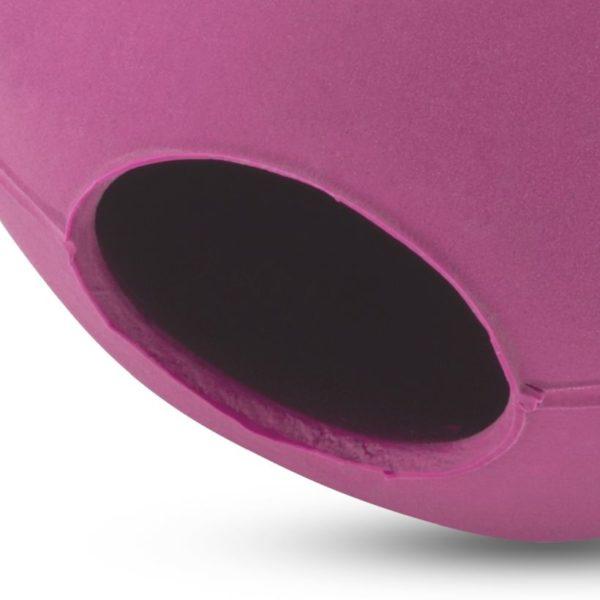 Beco Hundespielzeug Ball Pink Nahansicht