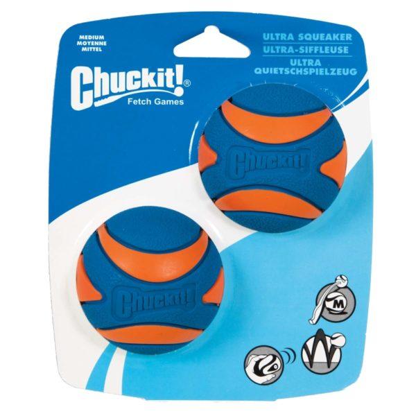 Chuckit-Hundespielzeug-Ball-Ultra-Squeaker-2Pack-medium-Verpackung