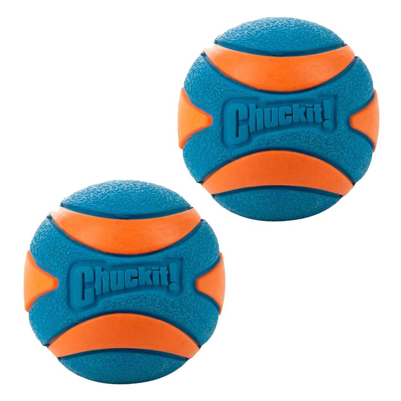 Chuckit-Hundespielzeug-Ball-Ultra-Squeaker-2Pack