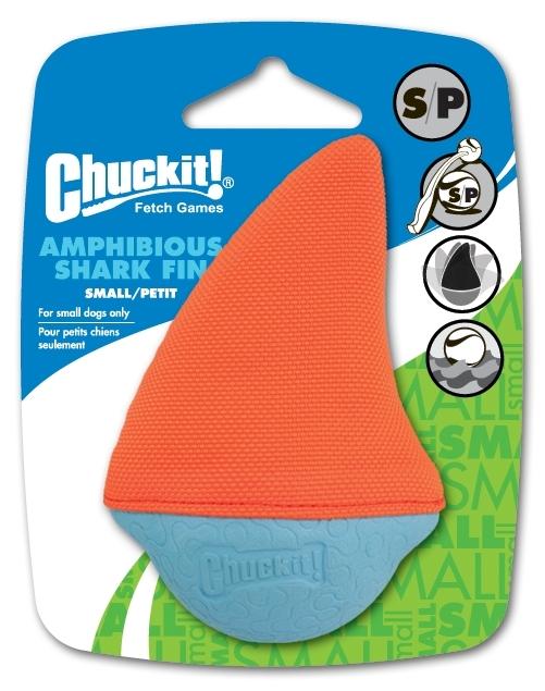 Chuckit-Schwimmspielzeug-Amphibious-Shark-Fin-small