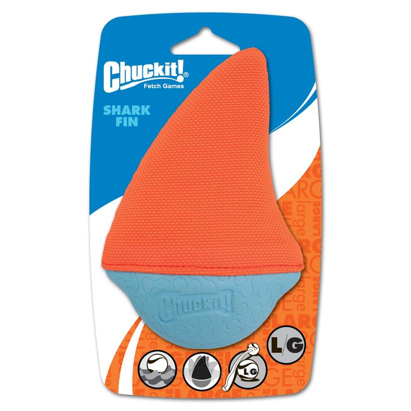 Chuckit-Schwimmspielzeug-Amphibious-Shark-Fin