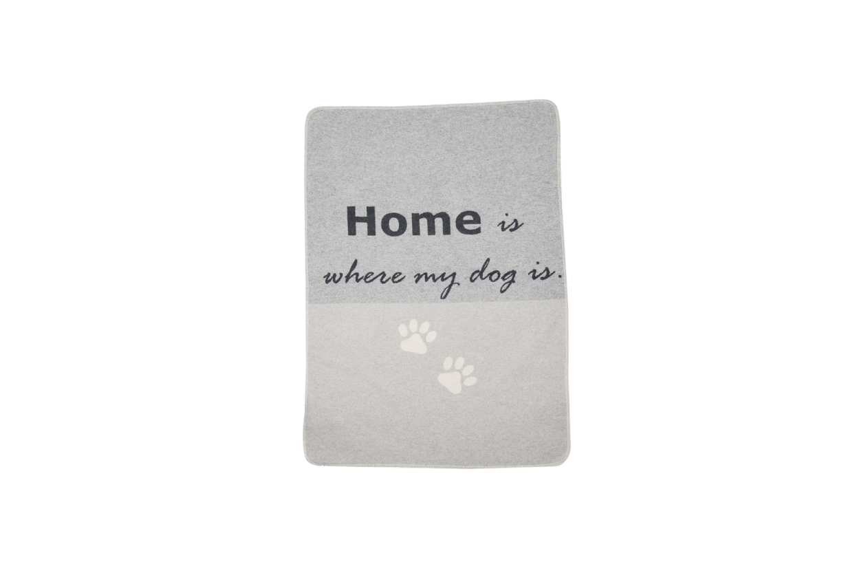 "David Fussenegger Hundedecke ""home is where my dog is"""