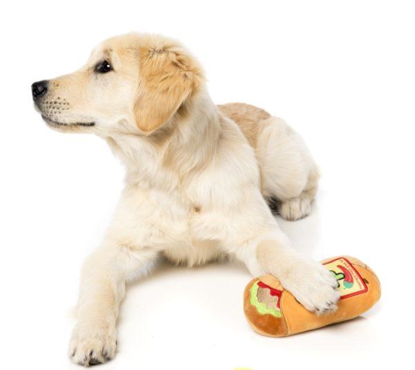 FuzzYard-Hundespielzeug-Burrito-mit-golden-retriever-welpe-2