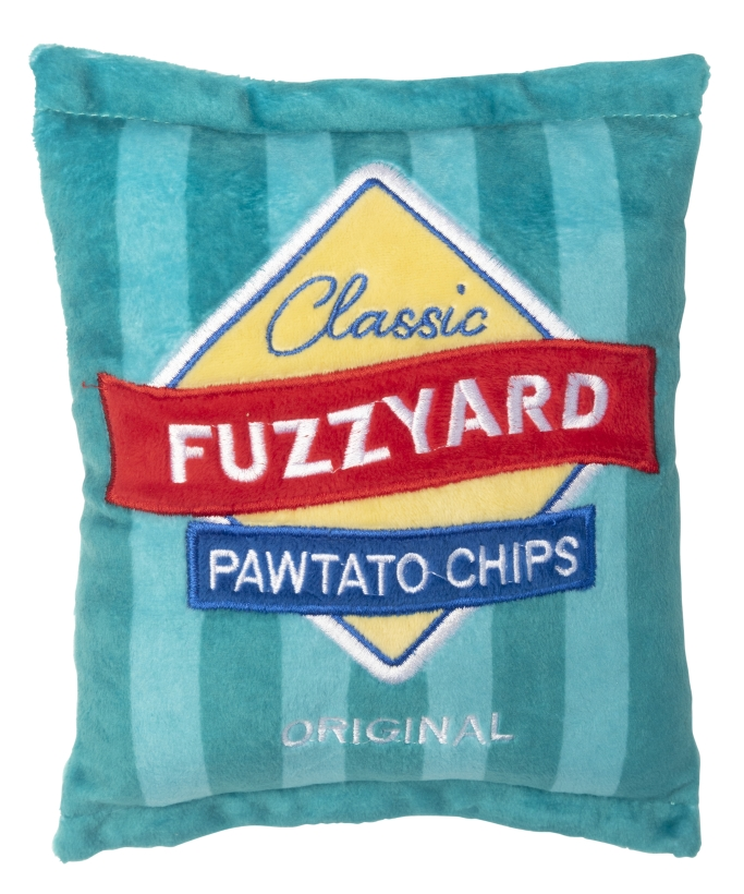 FuzzYard-Hundespielzeug-Chipspackung