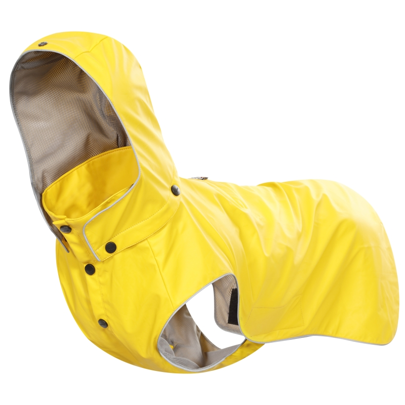 Rukka-Pets-Regenmantel-Stream-Gelb
