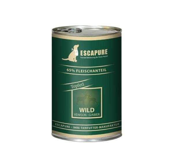 Escapure Nassfutter Wild-Topferl 400g