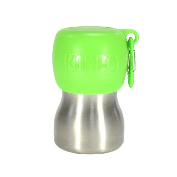 Kong-H2O-Wasserflasche-gruen-280ml