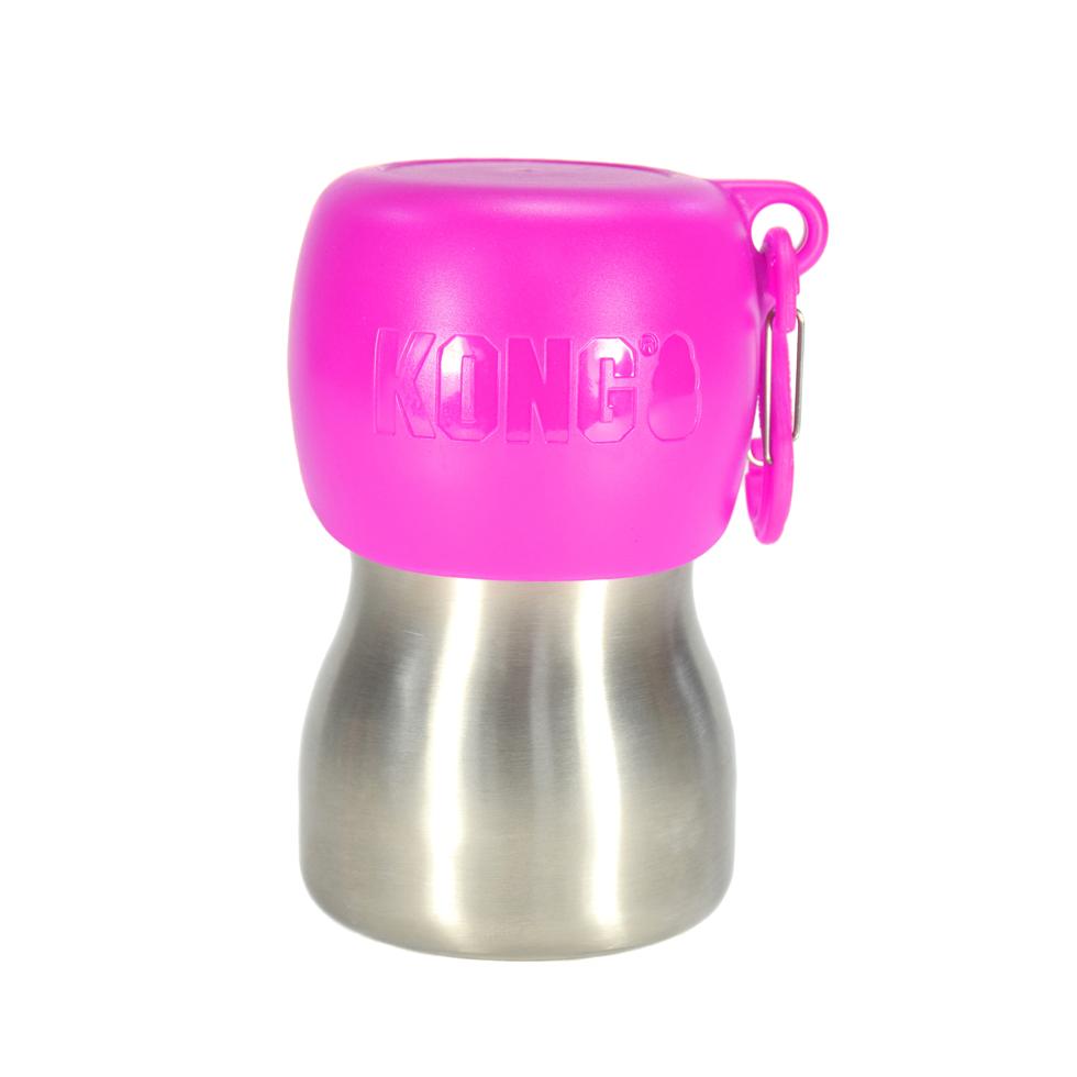 Kong-H2O-Wasserflasche-pink-280ml