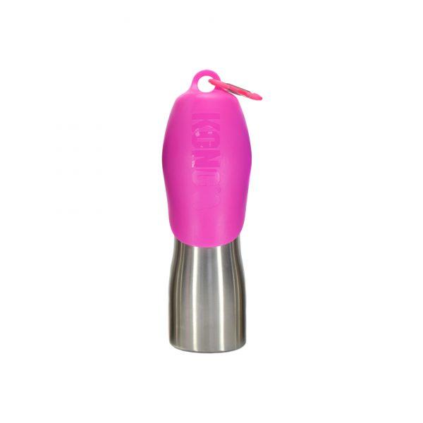 Kong H2O Wasserflasche pink 750ml