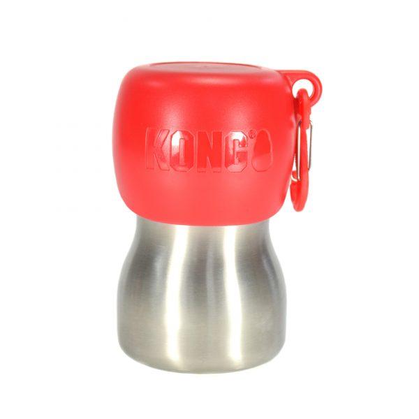 Kong-H2O-Wasserflasche-rot-280ml