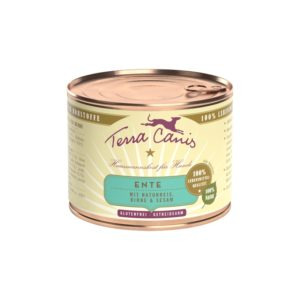 Terra Canis Nassfutter Classic Ente 200g