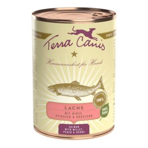 Terra Canis Nassfutter Classic Lachs 400g