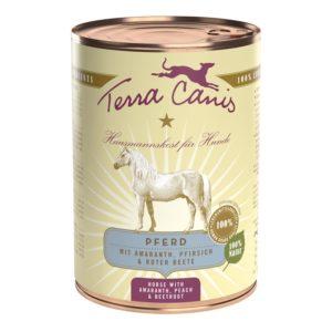 Terra Canis Nassfutter Classic Pferd 400g