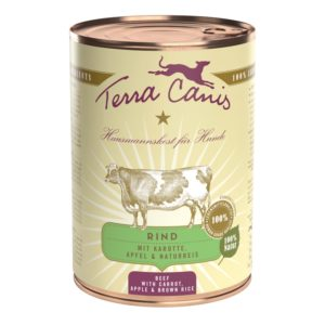 Terra Canis Nassfutter Classic Rind 400g