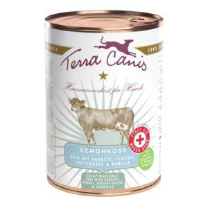 Terra-Canis-Nassfutter-First-Aid-Schonkost-Kalb-400g
