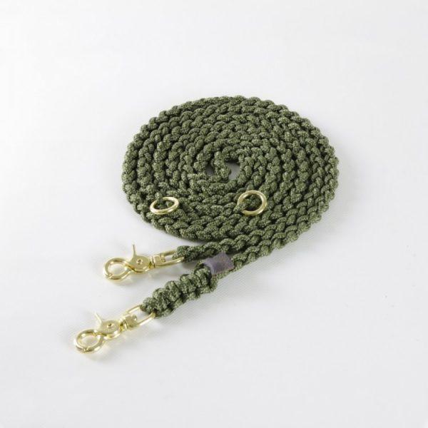 Molly & Stitch Leine Maritime Military Gold