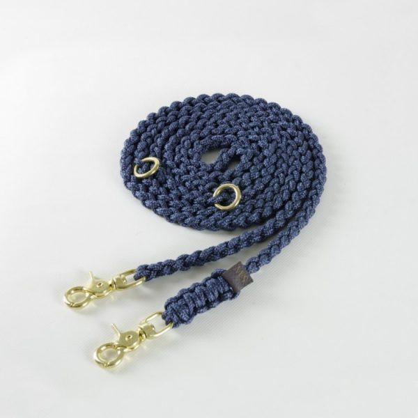 Molly & Stitch Leine Maritime Navy Gold