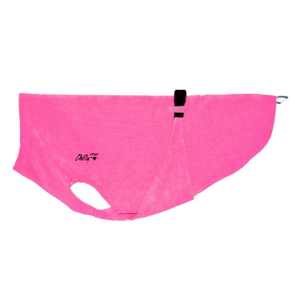 """Chilly Dogs Bademantel """"Soaker Robe"""" Pink"""