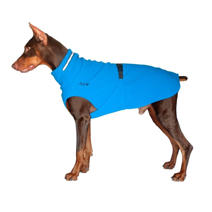 Chilly-Dogs-Chilly-Sweater-Blau-Seitenansicht-auf-Hund2