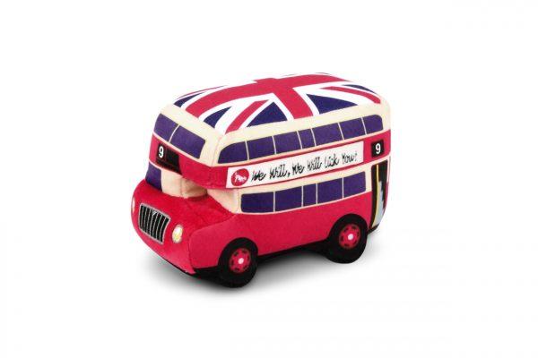P.L.A.Y. Plüschspielzeug Canine Commute Collection London Bus