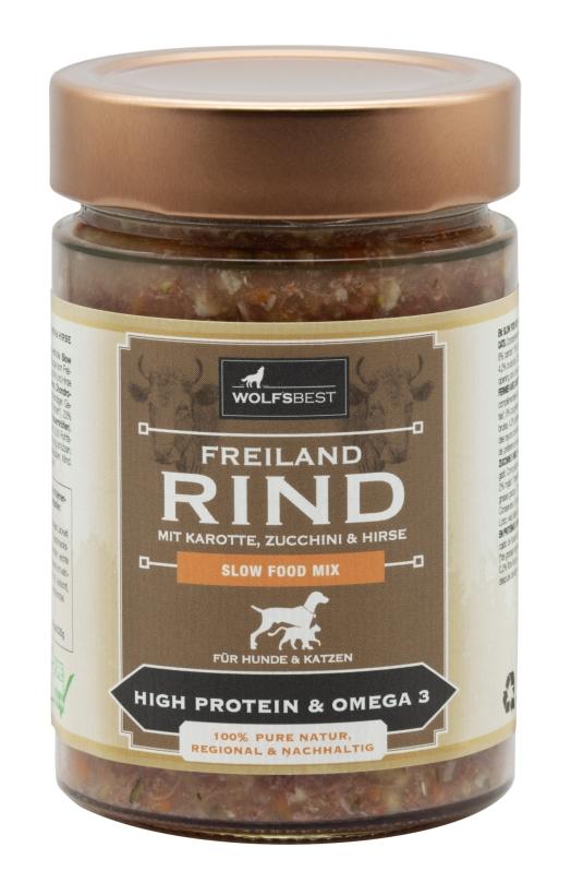 Wolf's Best Slow Food Mix Freilandrind
