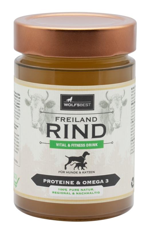 Wolf's Best Vital & Fitness Drink Freilandrind