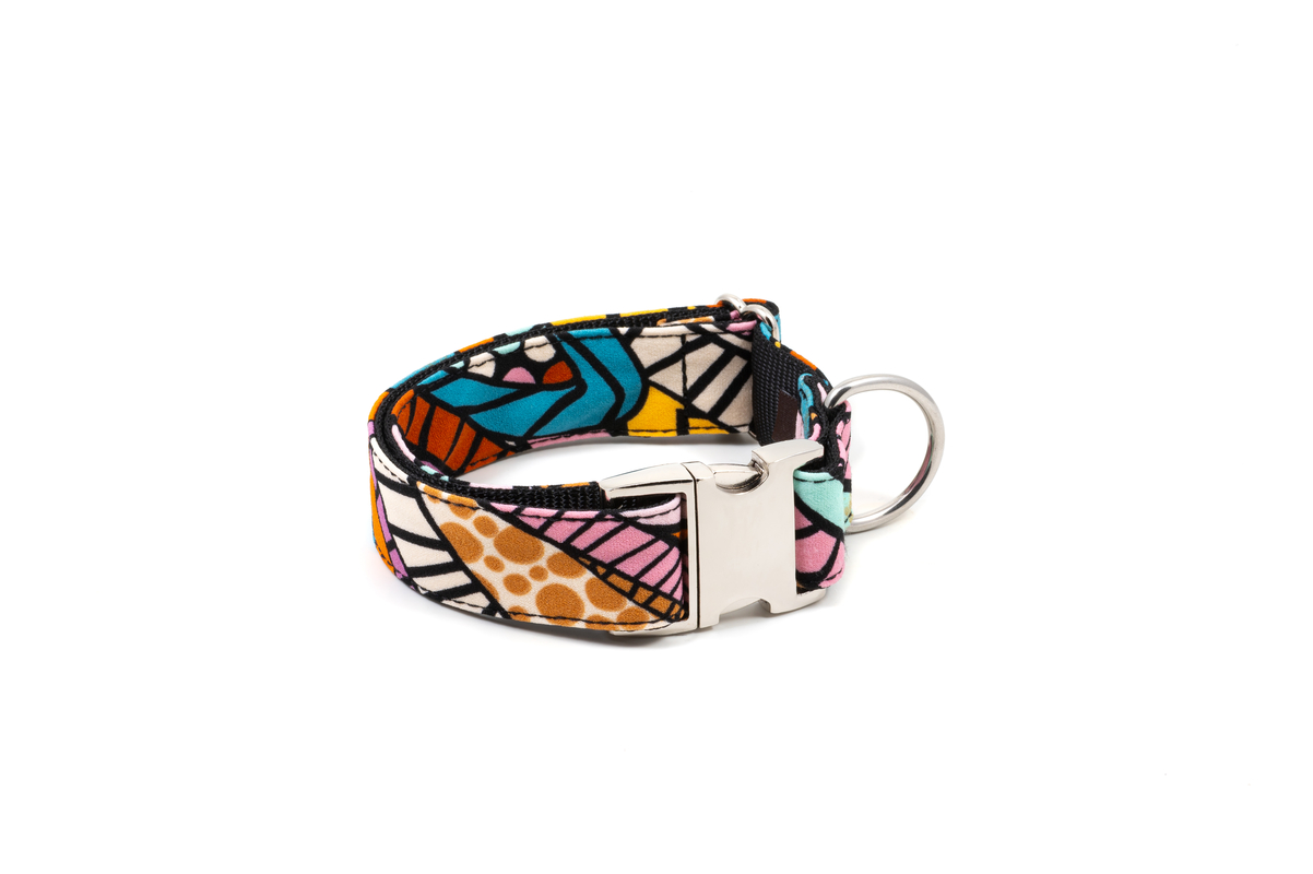 Brott-Dog-Barcelona-Textura-Guell-Halsband-Large