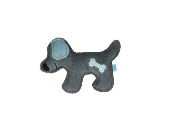 "Doggy Doodles Hundespielzeug ""Puppy"" Grau/Blau"